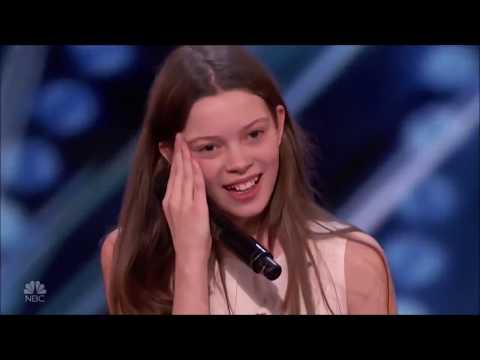 America's Got Talent COURTNEY HADWIN  2018 VIRAL GIRL