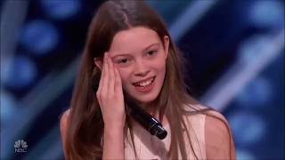 America's Got Talent COURTNEY HADWIN 2018 VIRAL GIRL