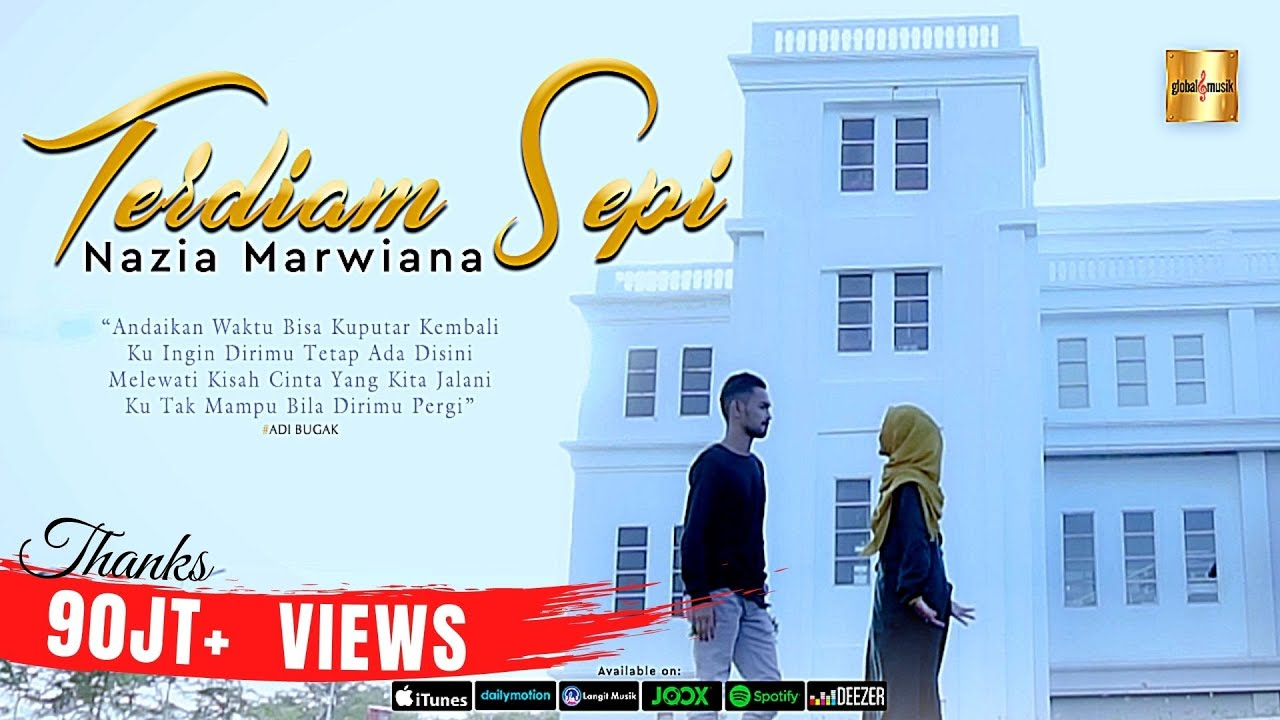 Nazia Marwiana - Terdiam Sepi (Andaikan Waktu Bisa Kuputar Kembali) (Official MV)