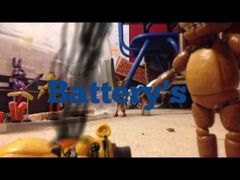Battery's fnaf stop motion