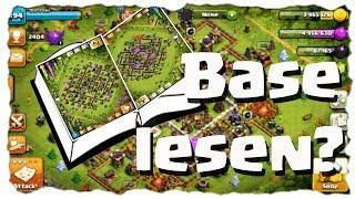 EINE BASE LESEN? - WAS ES DAMIT AUF SICH HAT | Clash of Clans Deutsch | Let´s Play COC