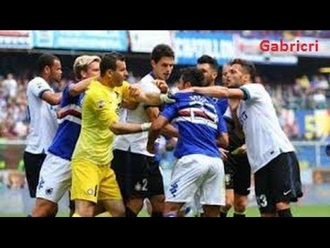 Risse E Falli Campionato Calcio Serie A Scontri E Reazioni In Campo