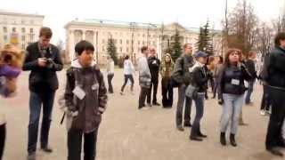 Танцевальный флешмоб Архангельск