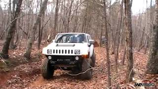 My H3 and Neil Jeep at suicide
