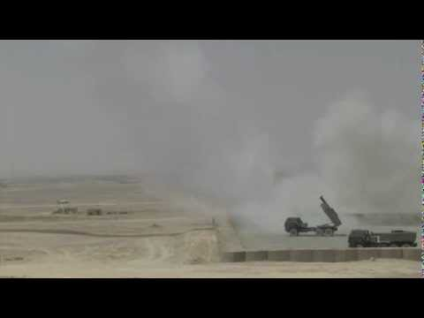HIMARS live firing Afghanistan High-Mobility Artillery Rocket Launcher System MRLS US Army