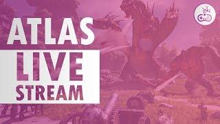WE HAVE A BASE!! Atlas! [Livestream]