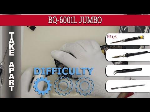 How To Disassemble 📱 BQ-6001L JUMBO Take Apart Tutorial