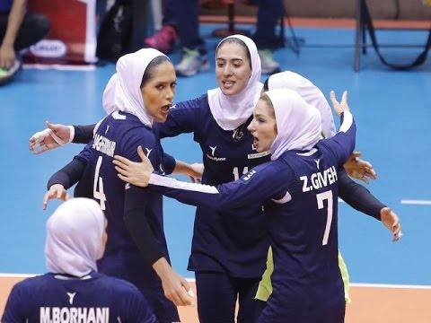 Iran vs Taiwan | 07 Sep 2016 | 2nd Round | 2016 Asian Women's Club Volleyball Championship