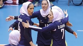 Iran vs Taiwan | 07 Sep 2016 | 2nd Round | 2016 Asian Women's Club Volleyball Championship