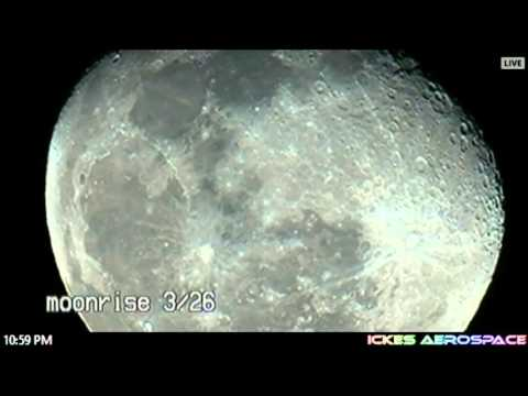 The Moon, Jupiter, and Saturn LIVE Stream (3-26-16)