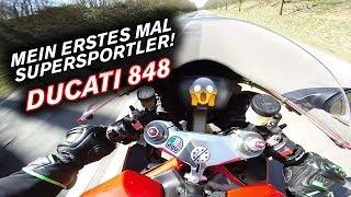 Mein erstes Mal Supersportler - Ducati 848 - Drift Dual Vlog