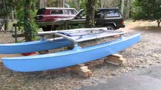 Hobie Cat 14 restoration