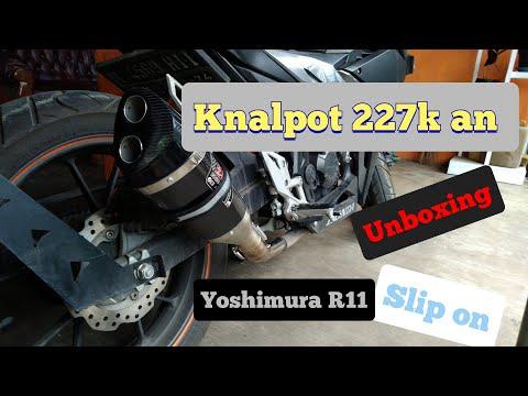 UNBOXING KNALPOT YOSHIMURA R11 || NEW CBR 150 R