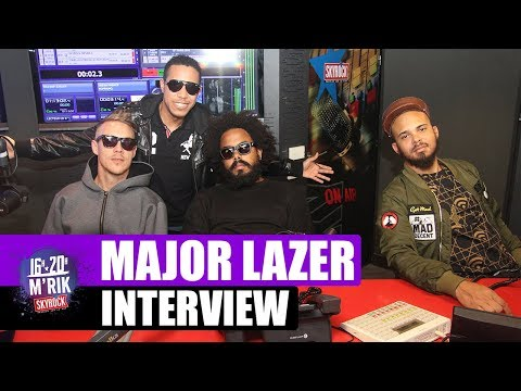 Interview Major Lazer x Mrik [Part 1]