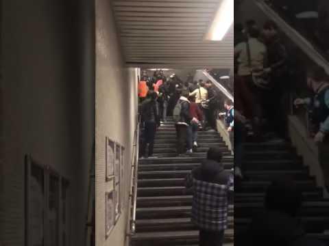 Şirinevler Metro Durağında Kavga