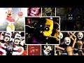 ALL ULTIMATE CUSTOM NIGHT JUMPSCARES & DISTRACTIONS | FNaF Ultimate Custom Night SECRET JUMPSCARES!