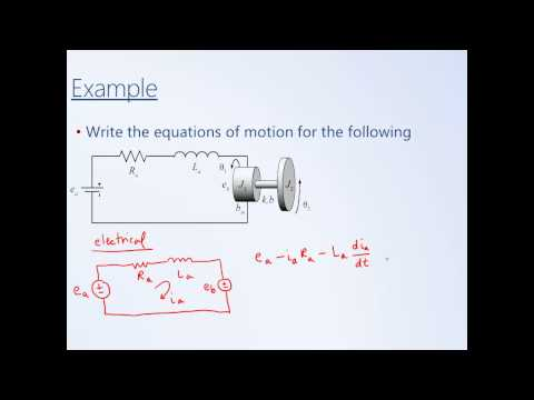 System Dynamics and Control: Module 9 - Electromechanical Sy