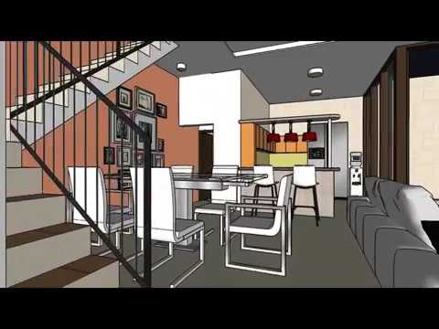 Desain Rumah 05 Rumah 2 lantai dengan Perluasan Garasi Workshop
