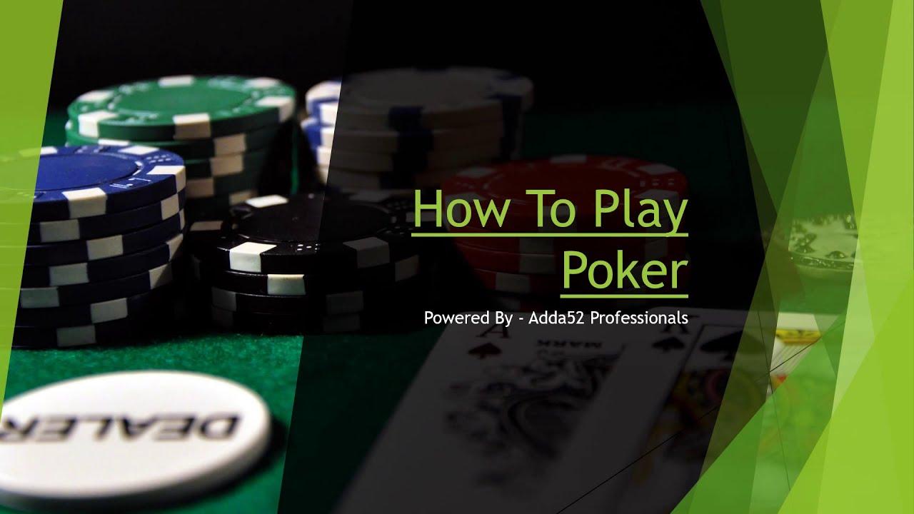 Как играть покер онлайн ютуб играть в карты чередование
