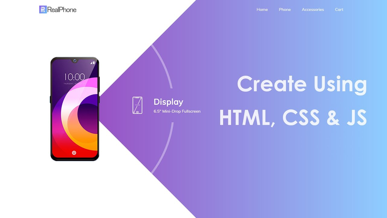 How To Make A Website Using HTML CSS And JavaScript Step By Step