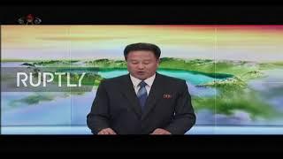 North Korea: State TV confirms 'super-large' rocket launcher test