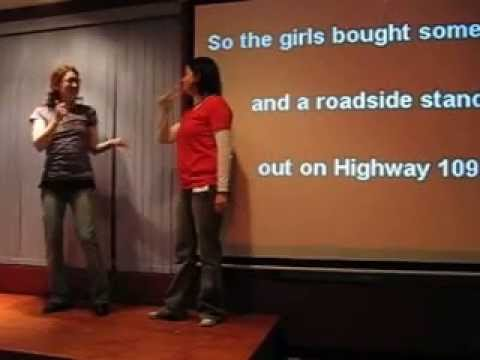 Karaoke in American Sign Language