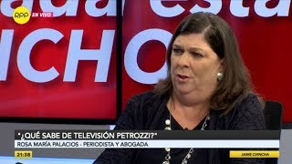 "Rosa María Palacios sobre salida de Hugo Coya: ""¿Qué sabe de televisión Francesco Petrozzi?"""