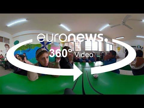 360°: uma escola inclusiva para refugiados na Jordânia