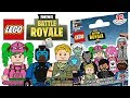 LEGO Fortnite Battle Royale Minifigures - CMF Draft!