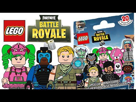 LEGO Fortnite Minifigures - CMF Draft!