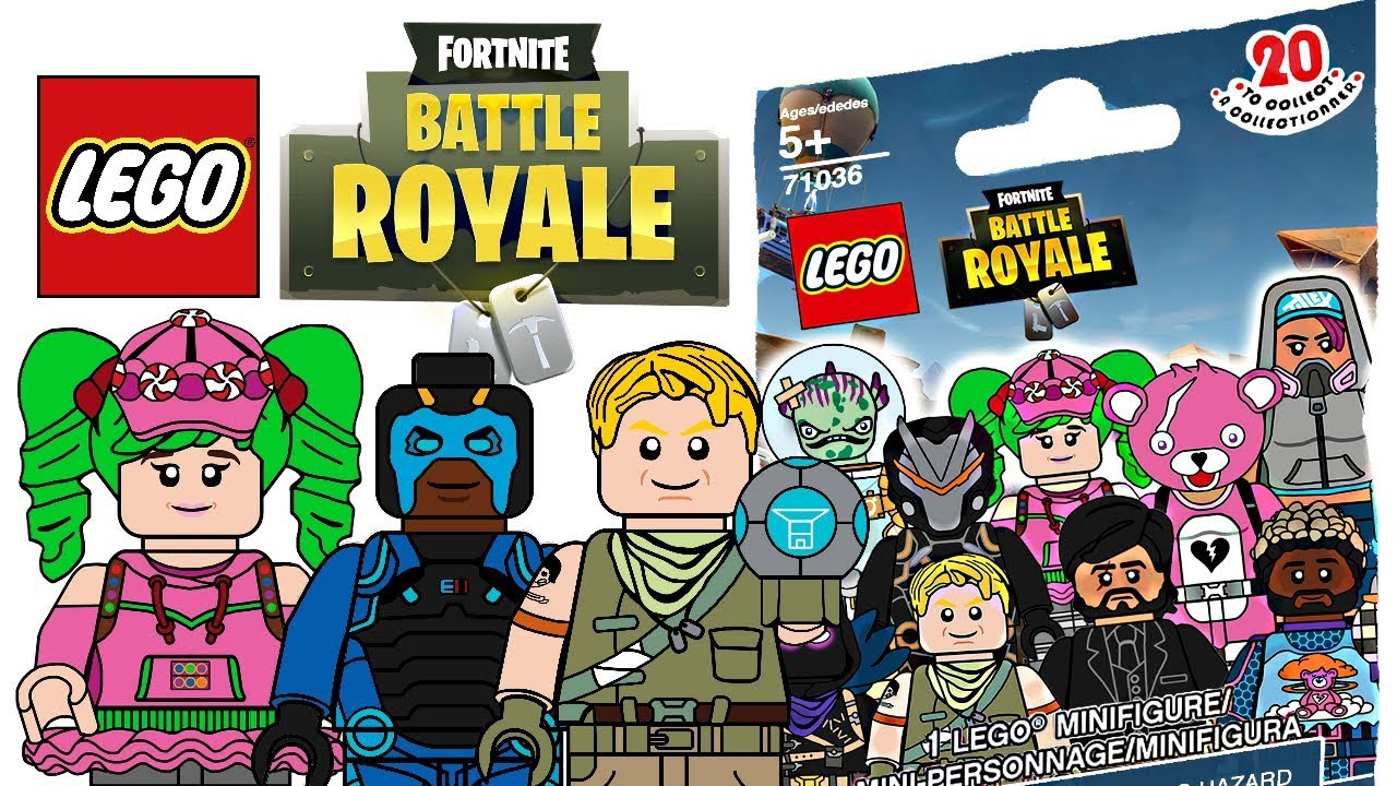 Lego Fortnite Minifigures Cmf Draft Youtube