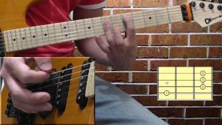 Peter Green - I Need Your Love so Bad - part 2 - chord progression lesson