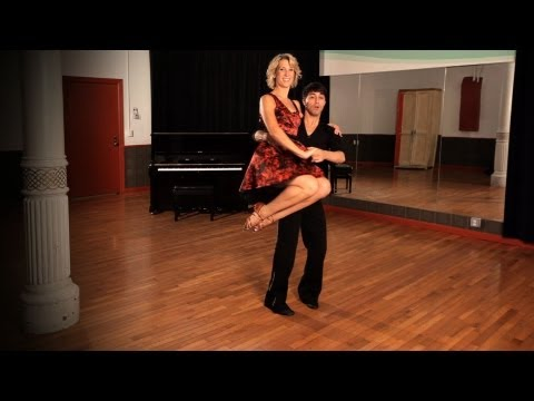 How to Do a Hip Lift in Swing Dance | Ballroom Dance