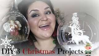 DIY 3 Christmas Projects