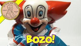 Bozo The Clown Plush Doll, 1994 Play By Play
