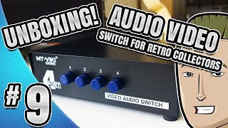 ► Unboxing - (4-Port) Audio Video Composite Switch!
