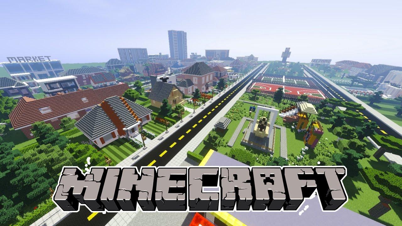 Minecraft: Düşler Şehri (Shader Mod)