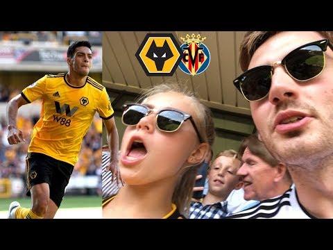 RAUL JIMENEZ FAN CLUB! Wolves vs Villarreal Pre-Season Friendly Vlog