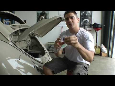 Classic VW Bugs How to Clean up your Wires 4 Volks Beetle