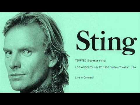 STING - Tempted (Squeeze Song) Los Angeles...