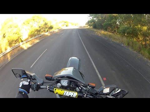 AUSTRALIA NORTH COAST RIDING MY SUZUKI DR650 CONSTRUCTION ZONE (PART ONE)