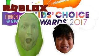 Événement de Roblox (fr) Nickelodeon's Kids Choice Award 2017