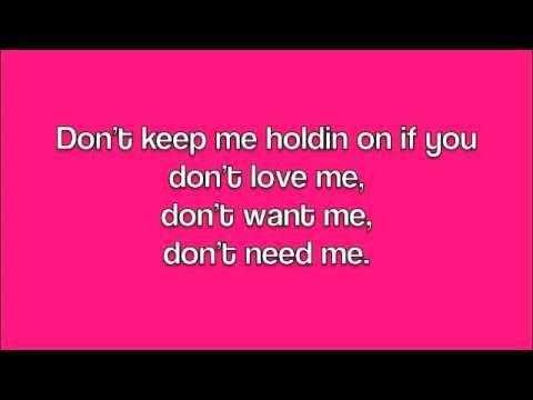 don't chase me - shea fisher lyrics - YouTube