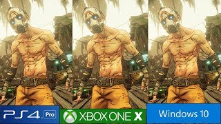 Borderlands 3 - PS4 Pro vs Xbox One X vs PC Graphics Comparison, Frame Rate Test And More