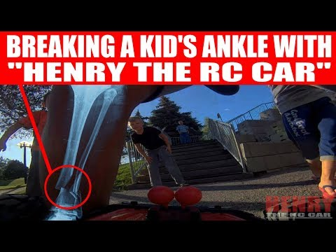 "BREAKING A KID'S ANKLE WITH ""HENRY THE RC CAR""! (EPISODE #107)"