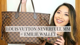 LOUIS VUITTON NEVERFULL MM & EMILIE WALLET REVEAL