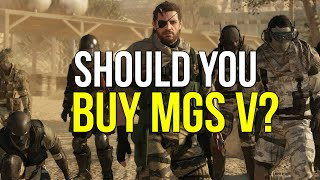 Are You Buying Metal Gear Solid V: The Phantom Pain?