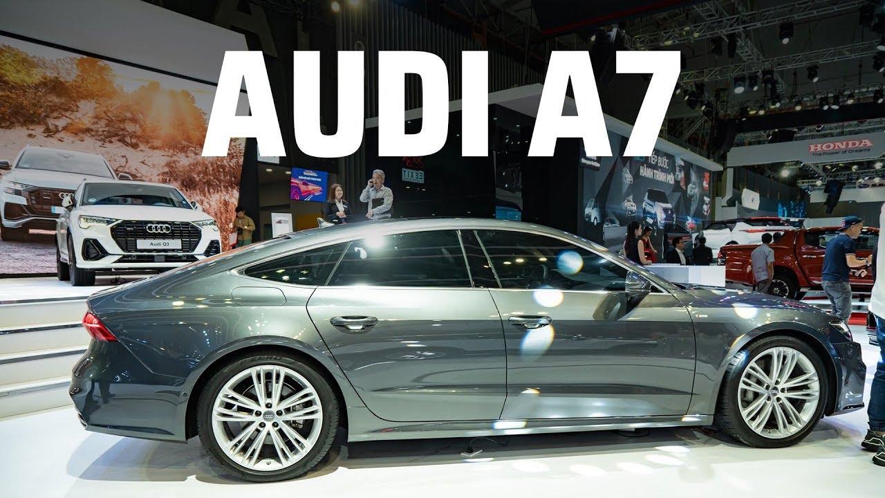 Audi A7 Sportback phiên bản 55 TFSI Quattro về Việt Nam