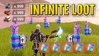 NEW RARE LLAMAS ARE OVERPOWERED!! (INFINITE LOOT) | Fortnite Daily Funny and WTF Moments Ep. 116 thumbnail
