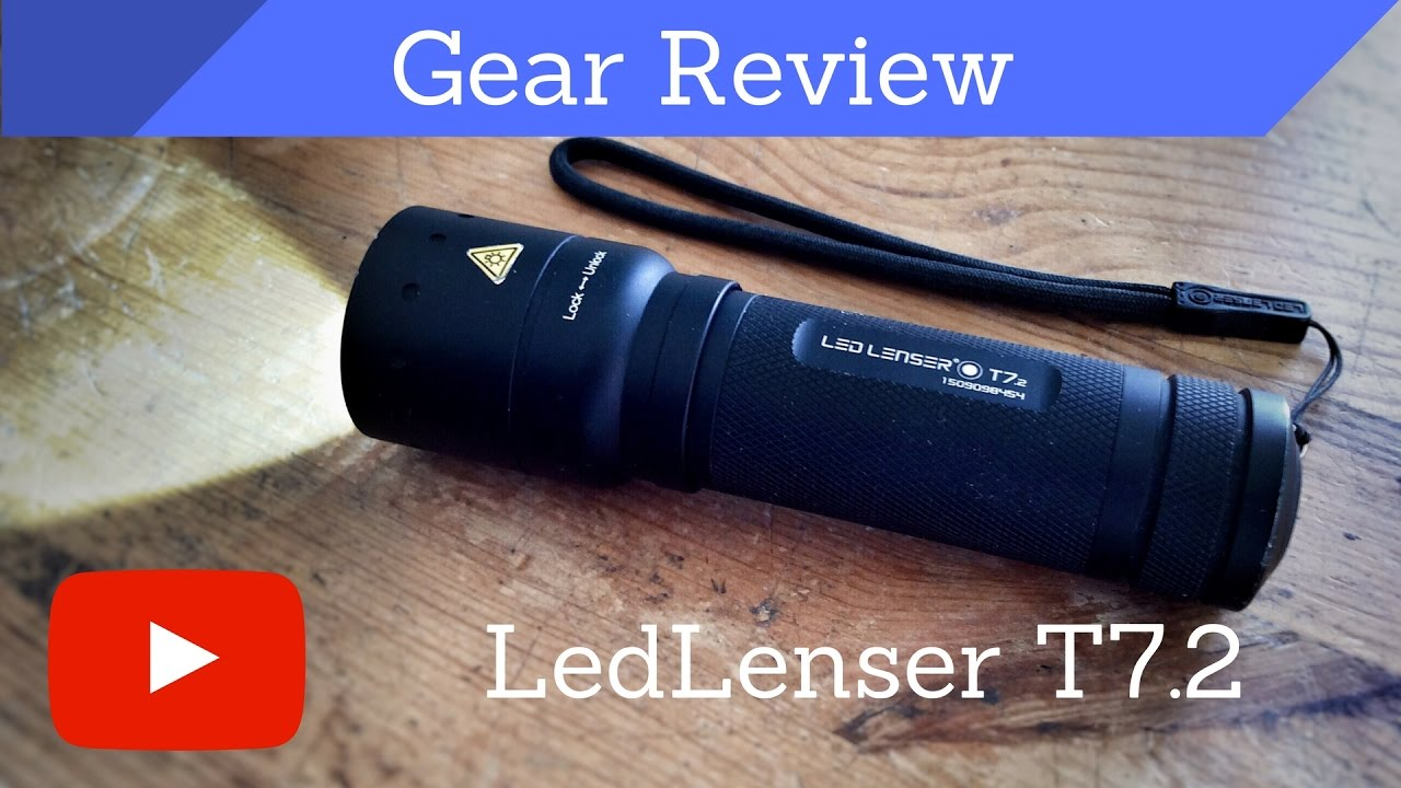 Ledlenser T7.2 – Review – Hiking Flashlight - YouTube